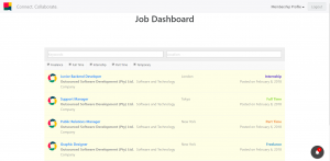 Job Dashboard
